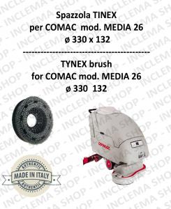 SPAZZOLA in TYNEX per lavapavimenti COMAC mod. MEDIA 26