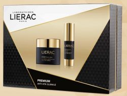 Lierac Premium cofanetto Natale 2018  la creme Voluptueuse 50 ml +premium occhi 15 ml