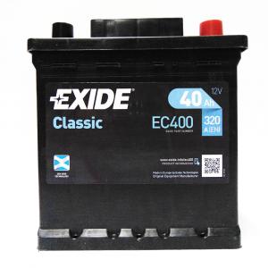 Batteria EXIDE 40Ah Dx - EC400