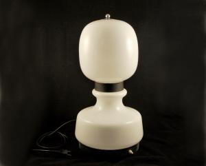 Lampada vintage Mazzega opal