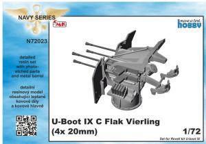 U-Boot IX Flak-Vierling Conversion, for Revell kit