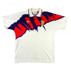 1991-93 Scotland shirt AWAY XL