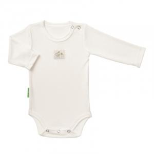 Body neonato, manica lunga - 100 % bamboo