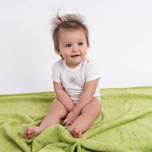 Body neonato, manica corta - 100 % bamboo