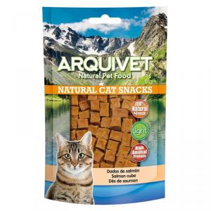 ARQUIVET Cubetti di salmone gusto salmone snack per gatto in formato sacchetto