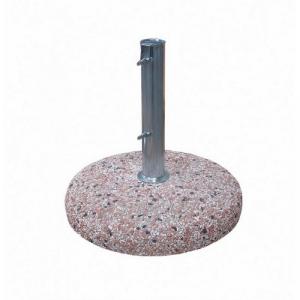 BIZZOTTO Base cemento 50mm 35kg in acciaio con basamento in marmo