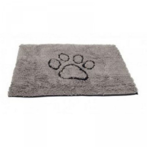 DOG GONE SMART Tappeto dirty dog accessorio per il cane con stampa zampa grigio