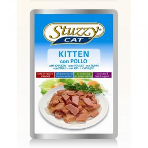 STUZZY CAT Cat busta kitten alimento gatto umido f.bassa formato bustina