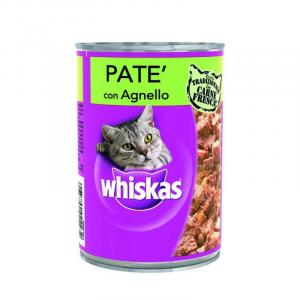 WHISKAS Lattina gusto agnello alimento gatto umido f.media