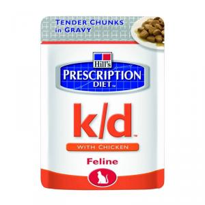 HILLS PRESCRIPTION DIET Prescription diet cat pollo alimento gatto umido diete