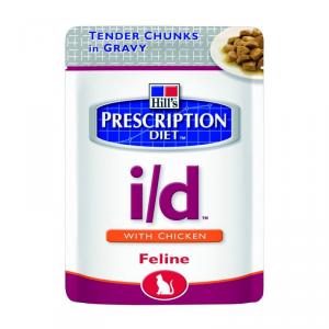 HILLS PRESCRIPTION DIET Prescription diet cat pollo per gatto umido diete