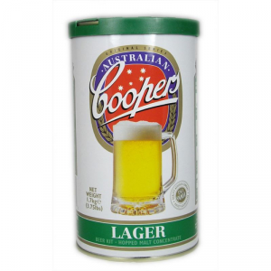 COOPERS lager malto 1,7kg in formato lattina