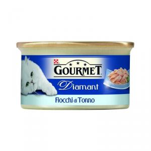 GOURMET DIAMANT Tenere sfog. tonno naturale alimento gatto umido premium bustina