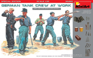 GERMAN TANK CREW AT WORK. SPECIAL EDITION