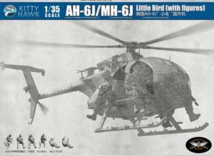 Hughes AH-6J/MH-6J Little Bird Nightstalker with Figures