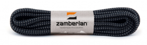 ROUND LACES ZAMBERLAN®    -   Black / Grey