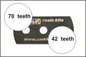 Ultra smooth and extra smooth saw (2 sides)1p