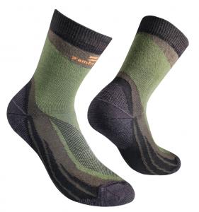 TREKKING SOCKS ZAMBERLAN® - Knee Lenght - Olive Green