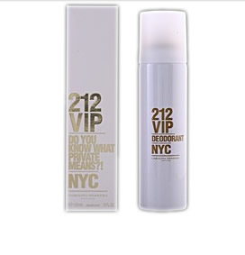 Carolina Herrera 212 Vip Deodorante Spray 150ml