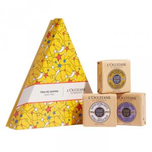 L'Occitane Extra Gentle Soap Set 3 Parti 2018