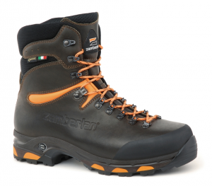 1003 JACKRABBIT TOP GTX® RR WIDE LAST - Jagdstiefel - Dark Brown/Orange