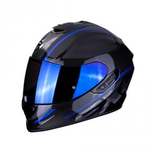 CASCO MOTO INTEGRALE SCORPION EXO-1400 CARBON AIR GRAND BLUE