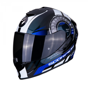 CASCO MOTO INTEGRALE SCORPION EXO-1400 AIR TORQUE BLACK BLUE