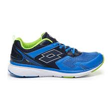 SCARPE LOTTO T6084 SPEEDRIDE 400 BLU OVR/BLU AVI RUNNING