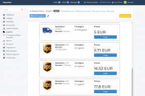 Storeden app - screenshot 5 -       1st Shipping software for your couriers - ShippyPro