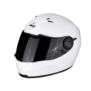CASCO MOTO INTEGRALE SCORPION EXO-490 SOLID WHITE