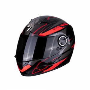 CASCO MOTO INTEGRALE SCORPION EXO-490 AIR DAR MATT BLACK SILVER