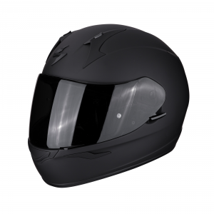 CASCO MOTO INTEGRALE SCORPION EXO-390 SOLID BLACK MATT