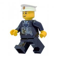 LEGO CITY POLICEMAN CLOCK 9002274