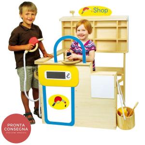 Negozio Stazione di servizio distributore di benzina gioco per bambini