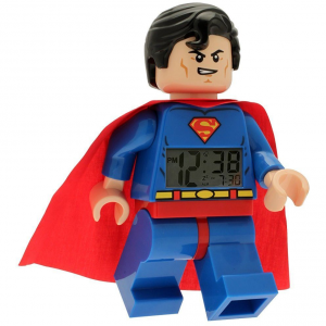 LEGO SUPER HEROES SUPERMAN CLOCK 9005701