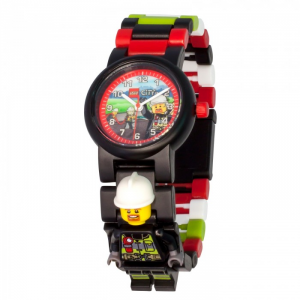 LEGO CITY FIREFIGHTER LINK WATCH 8021209