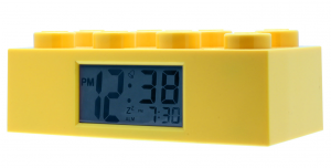 LEGO BRICK  YELLOW CLOCK 9002144