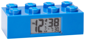 LEGO BRICK BLUE CLOCK 9002151