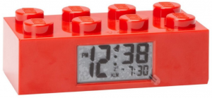 LEGO BRICK RED CLOCK 9002168