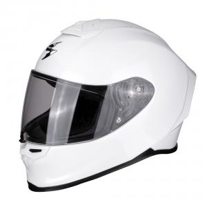 CASCO MOTO INTEGRALE SCORPION EXO-R1 AIR SOLID PEARL WHITE