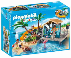 PLAYMOBIL ISOLA CARAIBICA CON CHIRINGUITO 6979
