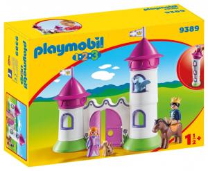 PLAYMOBIL CASTELLO CON TORRE 1.2.3 1.2.3 9389