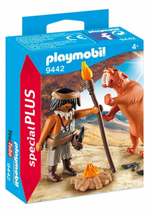 PLAYMOBIL UOMO PREISTORICO CON TIGRE 9442