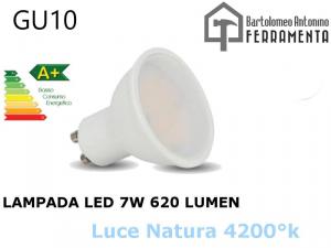 LAMPADA LED FARETTO INCASSO GU10 DA 7W 220V LUCE 4200K