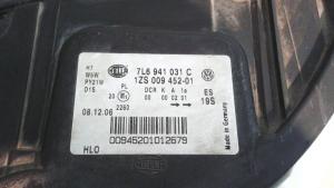 Proiettore ant sx xeno adattiva usato originale Volkswagen Touareg serie dal 2002 al 2010 3.0 V6