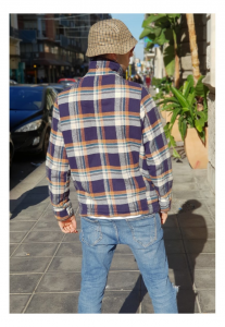 GIACCA IN LANA MULTICOLOR  JACKET VINTAGE ANNI 90