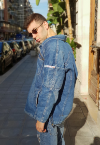 GIACCA JEANS SHERPA  JACKET VINTAGE ANNI 90