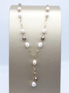 Collana di perle e oro, vendita on line | GIOIELLERIA BRUNI Imperia