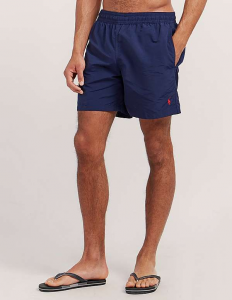 RALPH LAUREN TRAVELER - Shorts da mare blu navy