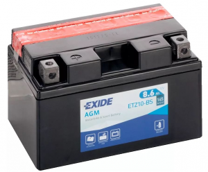 Batteria MOTO EXIDE 8.6Ah Sx - ETZ10-BS